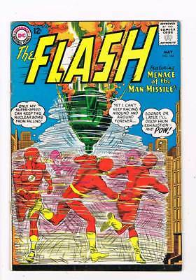 Flash # 144 Menace Of The Man-Missile! Infantino cover grade 4.5 scarce book !!