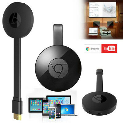 pour Google Chromecast 2 WiFi HDMI Écran Miroir Dongle netflix youtube Miracast