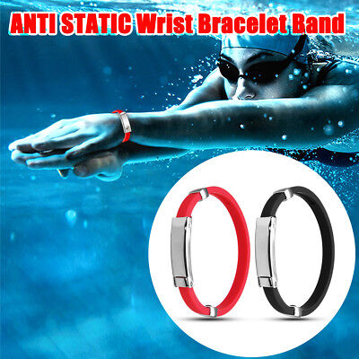 ANTI STATIC Titanium Ionic Magnetic Therapy Wrist Bracelet Band ESD Health Care