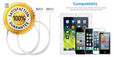 JETech USB Sync and Charging Cable for Apple iPhone 4/4s, 3G/3GS, iPad...