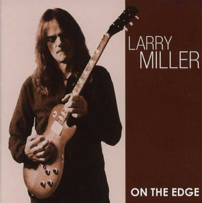 On The Edge, Larry Miller, Very Good CD Signed by Larry Miller
