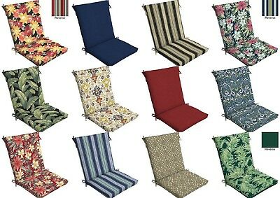 One Arden Outdoor Spice Paisley High Back Patio Chair Cushion Seat