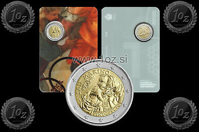 SAN MARINO 2 EURO 2018 ( TINTORETTO ) Commemorative coin / CoinCard * UNC NEW