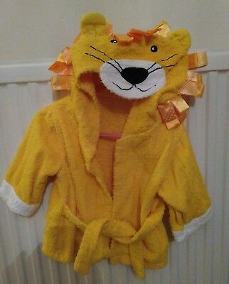 Baby lion dressing gown 6-12 months