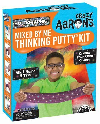 Crazy Aaron's Thinking Putty, HOLOGRAPHIC MIXED BY ME KIT