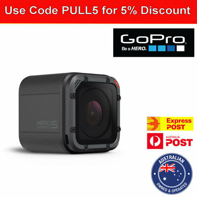 Go pro GoPro HERO5 Session Waterproof 4K New camera Hero 5 action w/ accessories