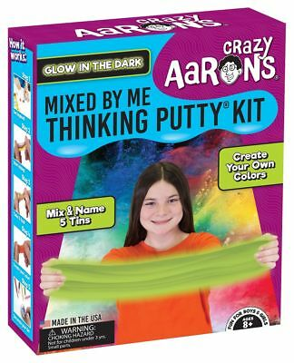 Crazy Aaron's Thinking Putty, GLOW IN THE DARK MIXED BY ME KIT
