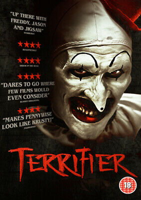 Terrifier DVD (2018) Jenna Kanell ***NEW***