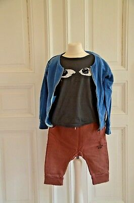 * BOBO CHOSES* Coole Short, rot, MR. Monster, 8-9Y, 128/134
