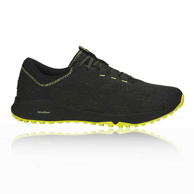 Asics Mens Alpine XT Trail Running Shoes Trainers Sneakers Black Yellow Sports