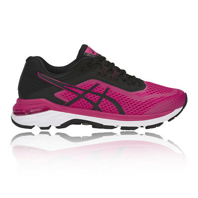 Asics Womens GT-2000 6 Running Shoes Trainers Sneakers Pink Sports Breathable