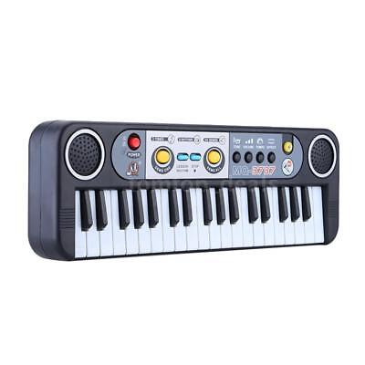 37 Keys Multifunctional Mini Electronic Keyboard Music Toy with Microphone R5K2