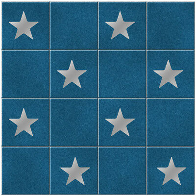 Star Tile Stickers - Pack of 18 Star Shape Tile Stickers