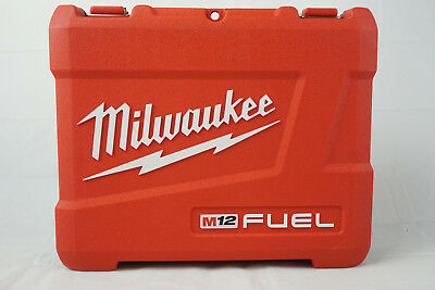"""Milwaukee Tool Case for 2453-22 M12 FUEL 1/4"""" Hex Impact Driver Kit (CASE ONLY)"""