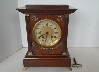 Lovely Antique Lenzkirch Bracket Clock