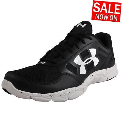 Men's Under Armour Micro G Engage Fitness Trainers Black