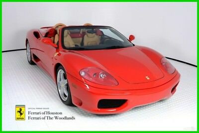 Ferrari 360 Spider F1 2004 360 SPIDER, TIME CAPSULE, REGULARLY SERVICED, FACTORY WARRANTY, 2580 MILES