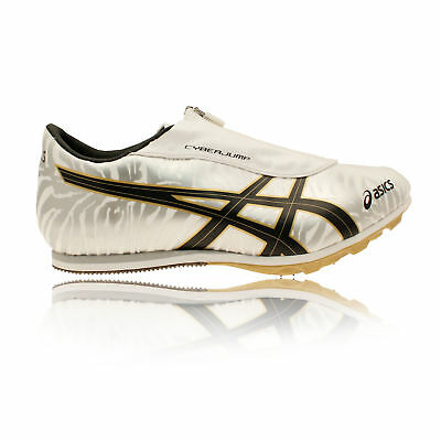 Asics Cyber Jump London Unisex Yellow Gold Field Shoes Sprint Spikes Trainers