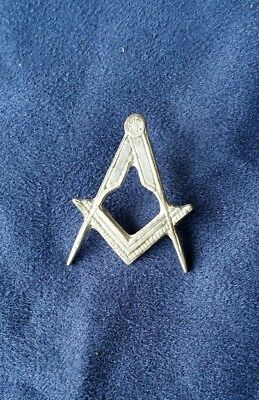 Masonic Master Mason without G...Lapel Pin