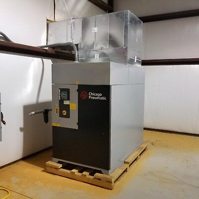 CHICAGO PNEUMATIC CPD-100 Rotary Screw Air Compressor 100HP