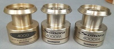Shimano Sonora 4000 FA Spool Support /& Washers USED SHIMANO REEL PART