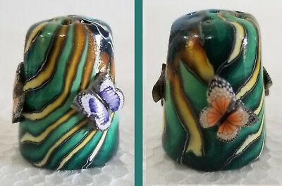 Boulder Bay Thimble - FREE FORM DESIGN with BUTTERFLIES S41