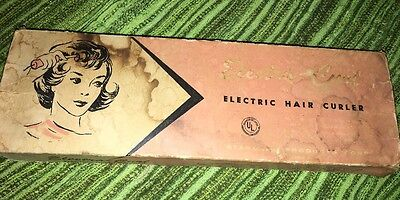 Vintage Electra Curl Electric Hair Curler iron Beauty Roller Higbees Cleveland