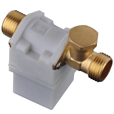 DC 12V 1/2″ Magnetic Electric Solenoid Valve for Water Air Normally Closed LE