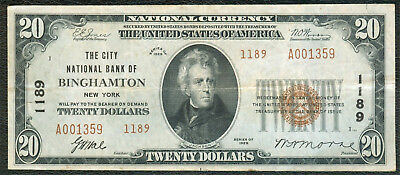 Binghamton NY National Bank Note, Series 1929