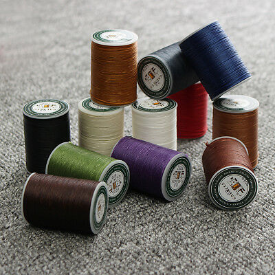 Cord Waxed Thread Wax DIY Bracelet Jewelry Linen Spool Leather Craft Sewing 78m