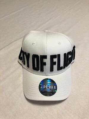 81fafa754e4855 NIKE UNISEX JORDAN JUMPMAN CLASSIC 99 ADJUSTABLE HAT 894675-100 City of  Flight