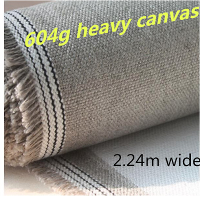 Blank Canvas Roll Artist Heavy 604gsm Long Rain Linen 224cm Wide Oil Painting