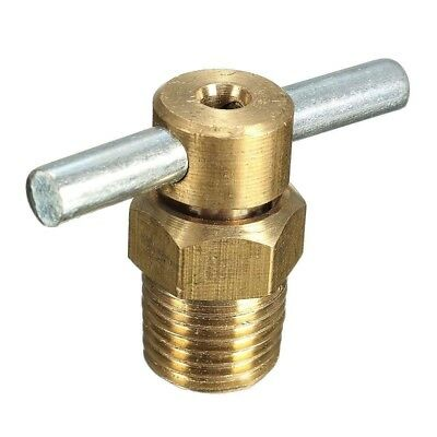 1/4'' NPT Petcock Water Drain Valve For Air Compressor Tank Replacement Part  LE