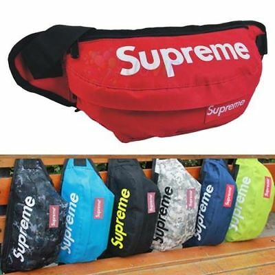 🇦🇺 AU STOCK Supreme Waist Bum Bag Fanny Pack Outdoor Pouch Camping Hike Bumbag