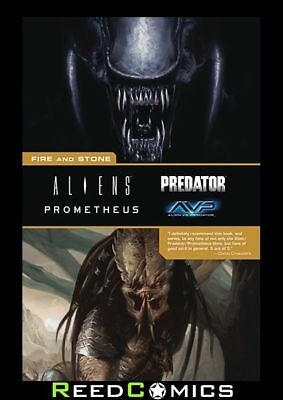 ALIENS PREDATOR PROMETHEUS FIRE AND STONE GRAPHIC NOVEL (672 Pages) Paperback