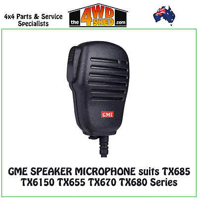 GME Speaker Microphone suits TX665 TX675 TX685 TX6150 Series - MC007