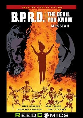 BPRD THE DEVIL YOU KNOW VOLUME 1 MESSIAH GRAPHIC NOVEL Collects 5 Part Series