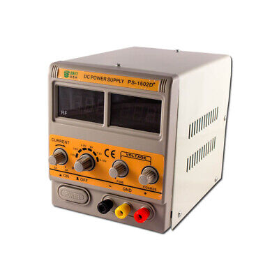 BST-1502D+ DC Regulated Power Supply - 15V, 2-Amp