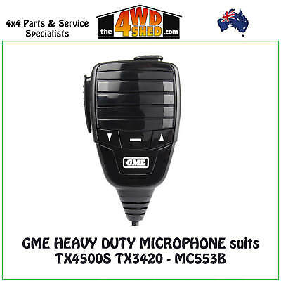GME Heavy Duty Microphone Speaker suits TX4500S TX3420 - MC553B