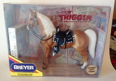 Breyer No.758 Roy Rogers Trigger Hollywood Horses Series With Video NIB VHS