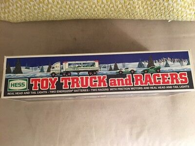 1997 Hess Toy Truck and Racers **Unopened - MIB - NEW**