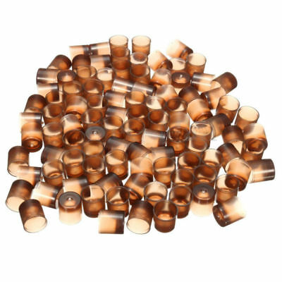 200x Rearing Brown Cell Bee Queen Cups Box for Apiculture Beekeeping Cups Set