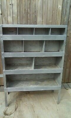 vintage industrial racking