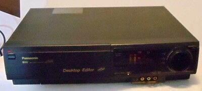 Panasonic AG-1980 SVHS Super VHS Player VCR Recorder Editor Commercial Unit