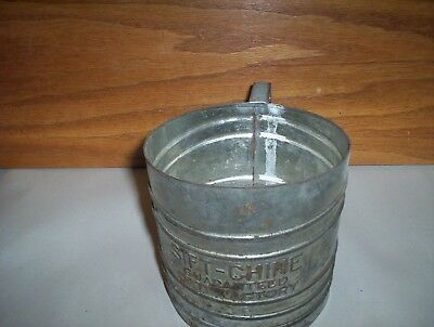 Antique Sift-Chine Guaranteed Satisfactory Metal Flour Sifter