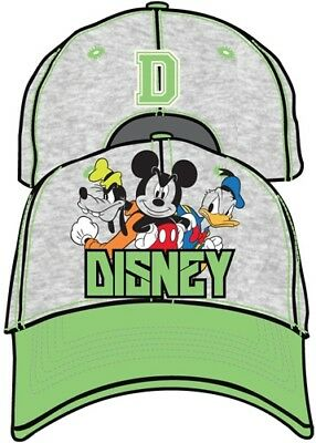 Disney Classic Mickey Mouse Donald Determined Boys Youth Girls Baseball Hat Cap