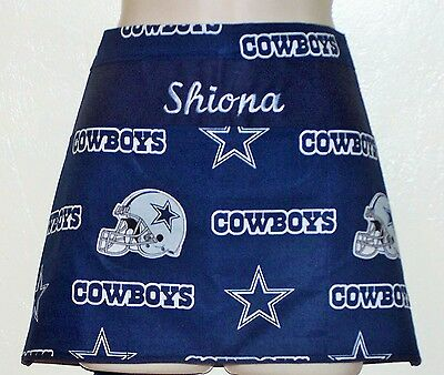 Dallas Cowboys NFL waitress server waiter waist apron 3 pockets