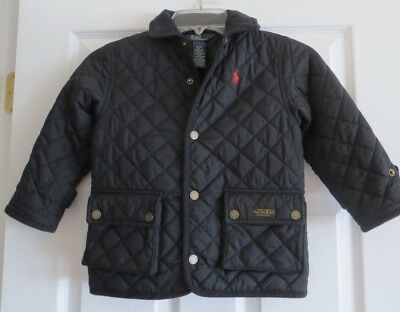 Polo Ralph Lauren Toddler Boy's Quilted Jacket Size 3/3T EUC
