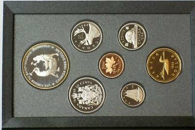 1988 CANADIAN PROOF SILVER DOUBLE DOLLAR SET ALSO KNOWN AS A PRESTIGE SET glb