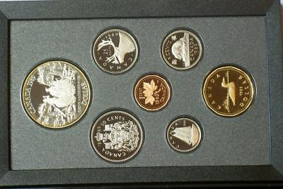 1989 CANADIAN PROOF SILVER DOUBLE DOLLAR SET ALSO KNOWN AS A PRESTIGE SET glb